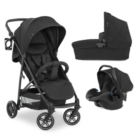 hauck Buggy Rapid 4R Plus Trioset Black