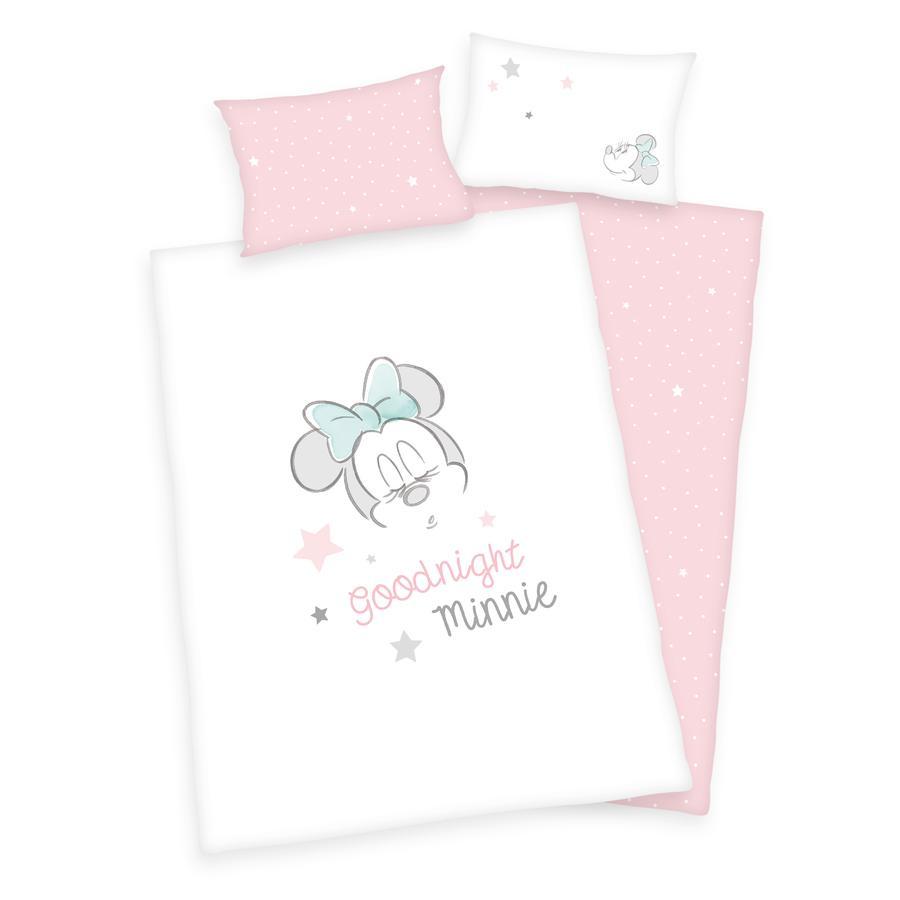 HERDING Sengelinned Minnie Mouse GOTS 100x135 cm