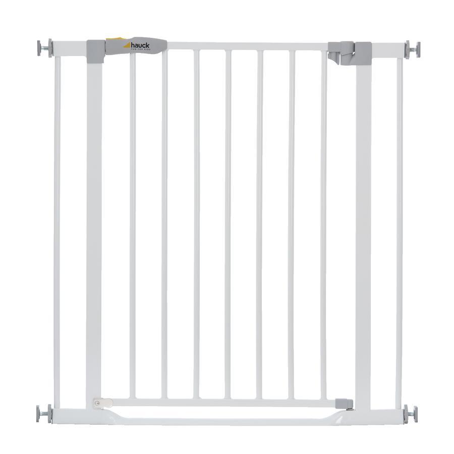 hauck Puerta de seguridad Clear Step White