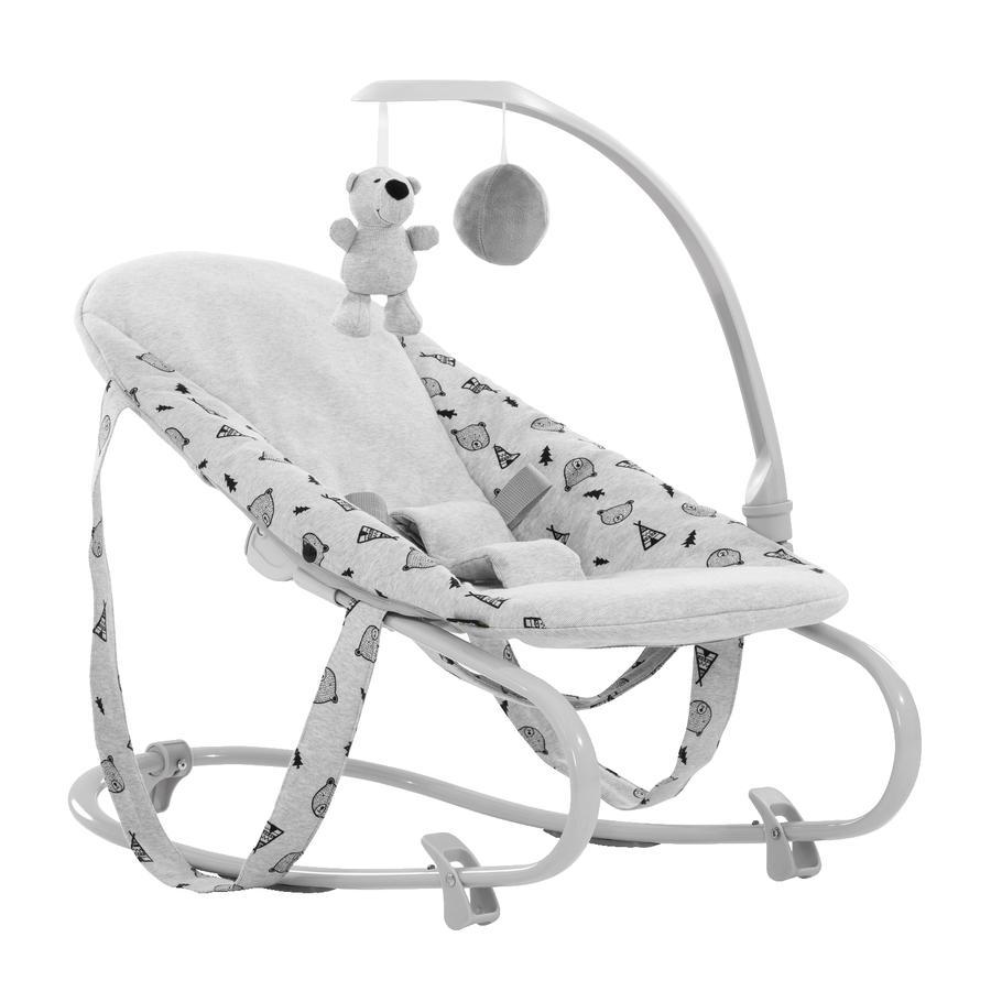 hauck Baby Attachment Bouncer Deluxe Nordic Grey