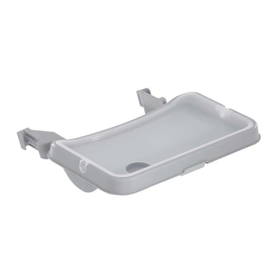 Hauck Alpha Podnos na jídelní stoličku šedý