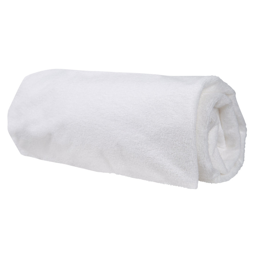 roba safe asleep® laken med fuktsikring hvit 70x140 cm
