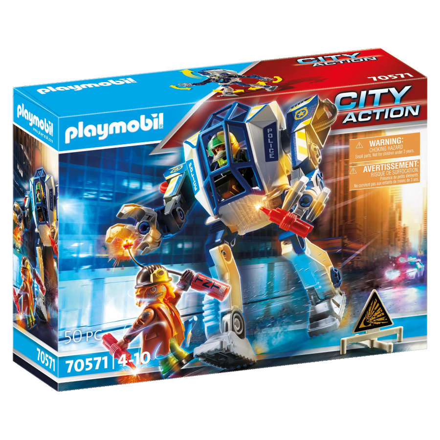 PLAYMOBIL® Spesialoperasjon for politirobot