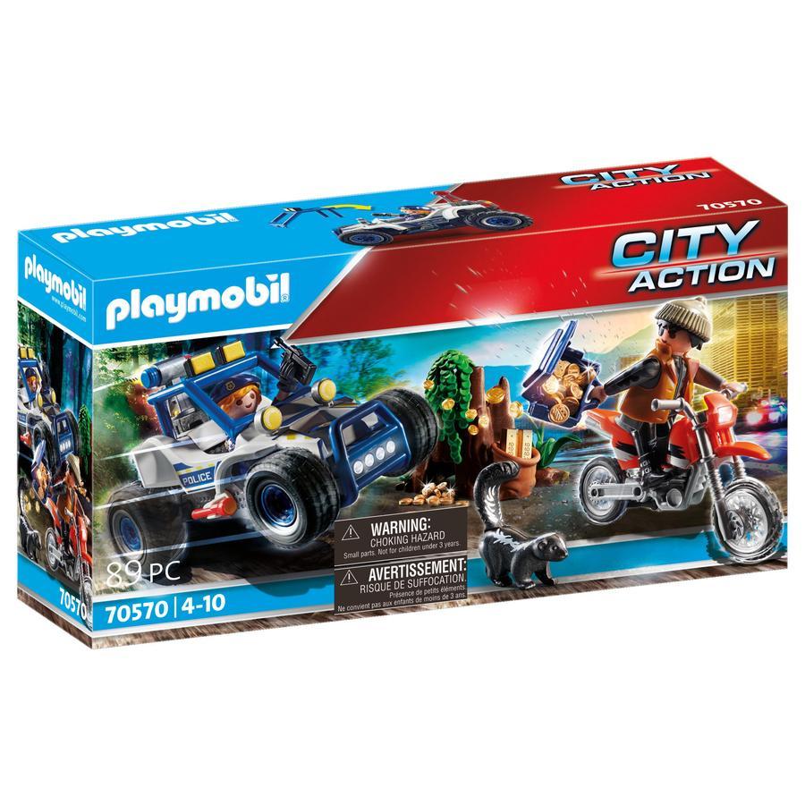 PLAYMOBIL® City Action Polizei Geländewagen Schatzräuber 70570
