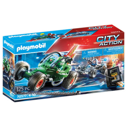 PLAYMOBIL® City Action Polizei Kart Tresorräuber 70577