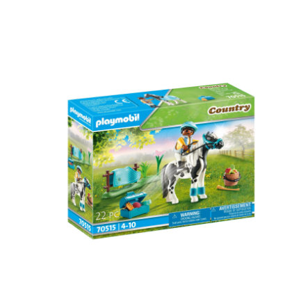 PLAYMOBIL® Country Figurine poney Lewitzer 70515
