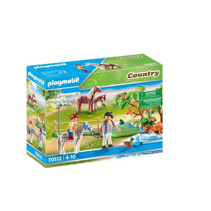 PLAYMOBIL ® Country Happy ponnyridning 70512