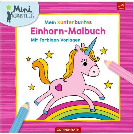 SPIEGELBURG COPPENRATH Mein kunterbuntes Einhorn-Malbuch (Mini-Künstler)