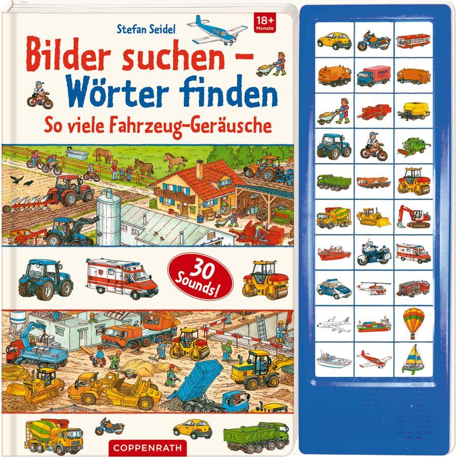 SPIEGELBURG COPPENRATH Bilder suchen-Wörter finden: So viele Fahrzeug-Geräusche
