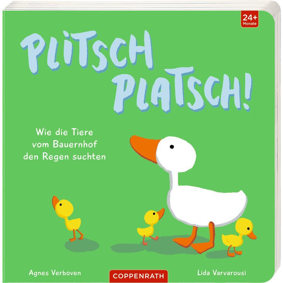 SPIEGELBURG COPPENRATH Plitsch platsch! - Wie die Tiere vom Bauernhof den Regen suchten