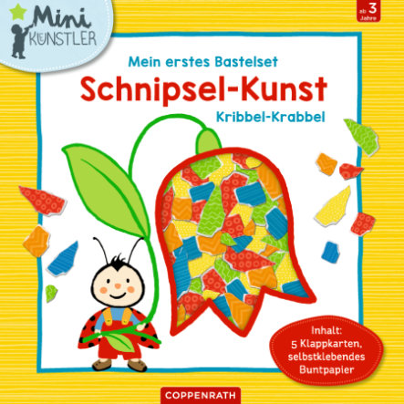 SPIEGELBURG COPPENRATH Mein erstes Bastelset: Schnipsel-Kunst-Kribbel-Krabbel