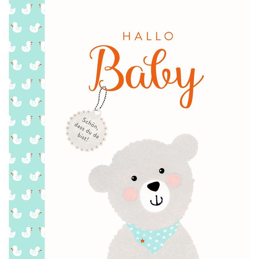 SPIEGELBURG COPPENRATH Hallo Baby - Eintragalbum mit vielen Extras (BabyGlück)