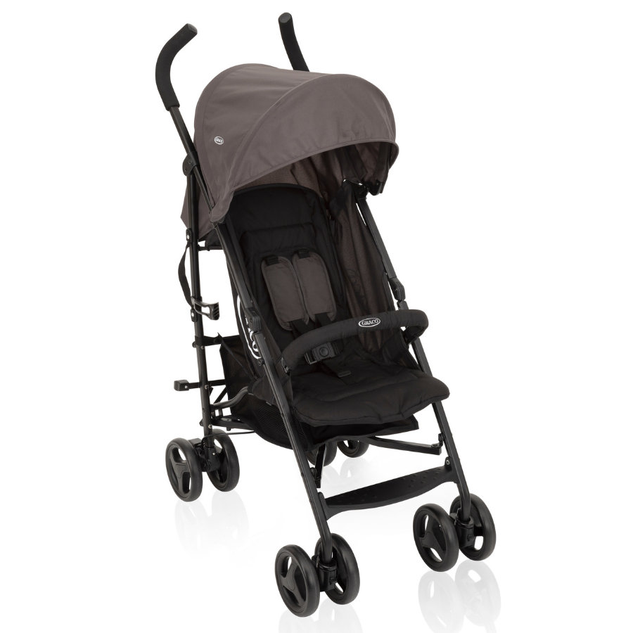 Graco ® Buggy TraveLite™ Black /Grijs