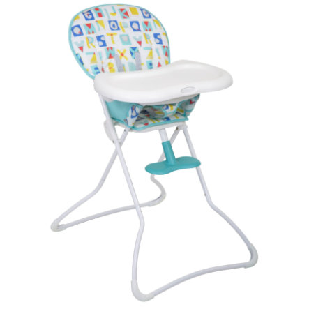 Graco® High Chair Snack n 'Stow™ Block Alpha-spill