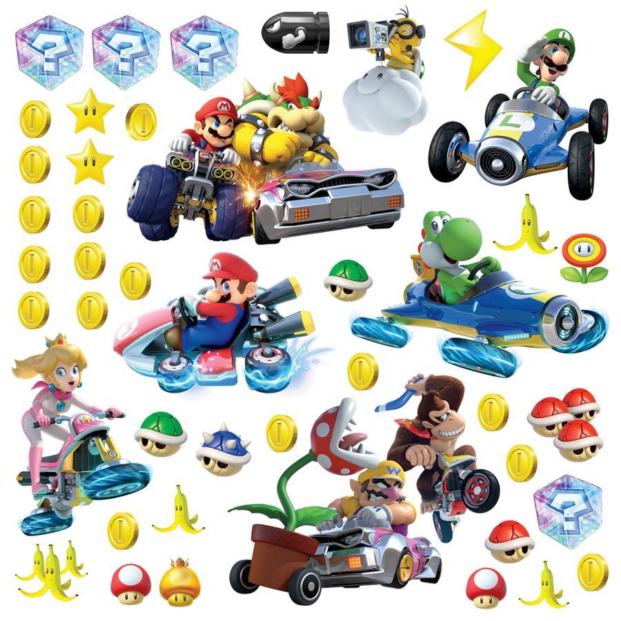 RoomMates® Mario Kart mit Freunden