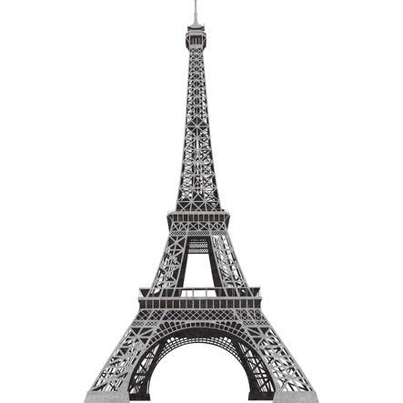RoomMates ® Nástěnná samolepka Eiffelova věž