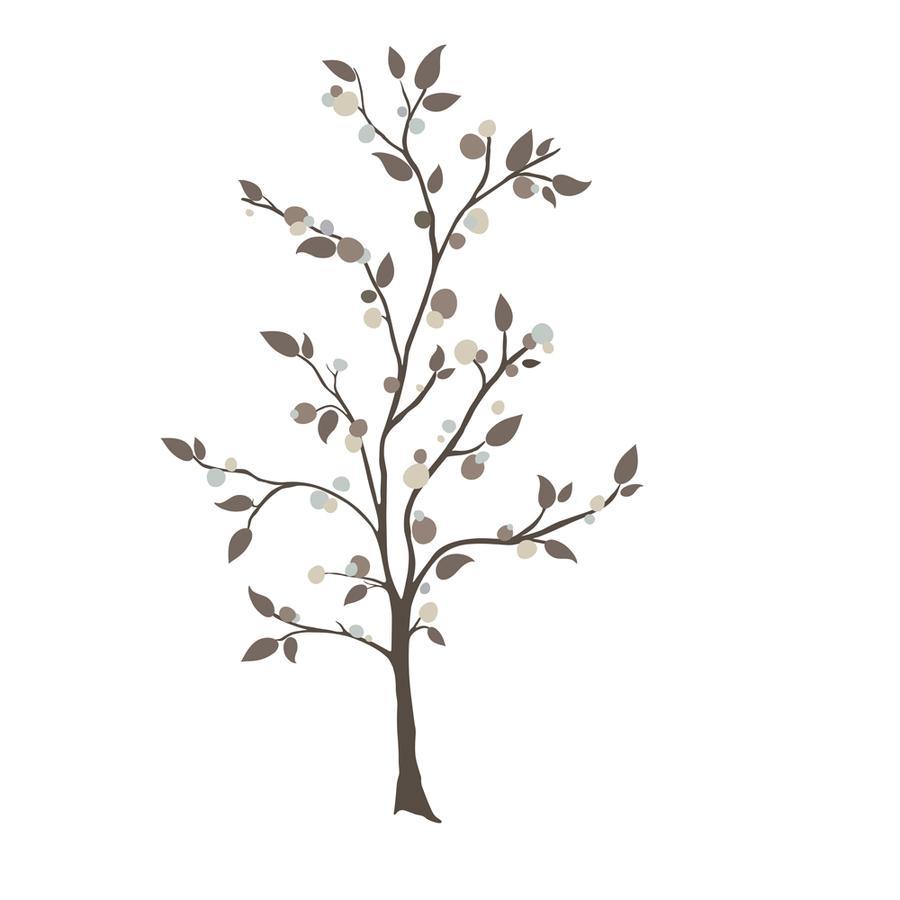 RoomMates ® Väggklisterträd