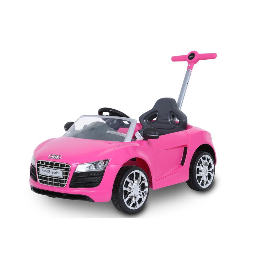 ROLLPLAY Audi R8 Push Car, pink