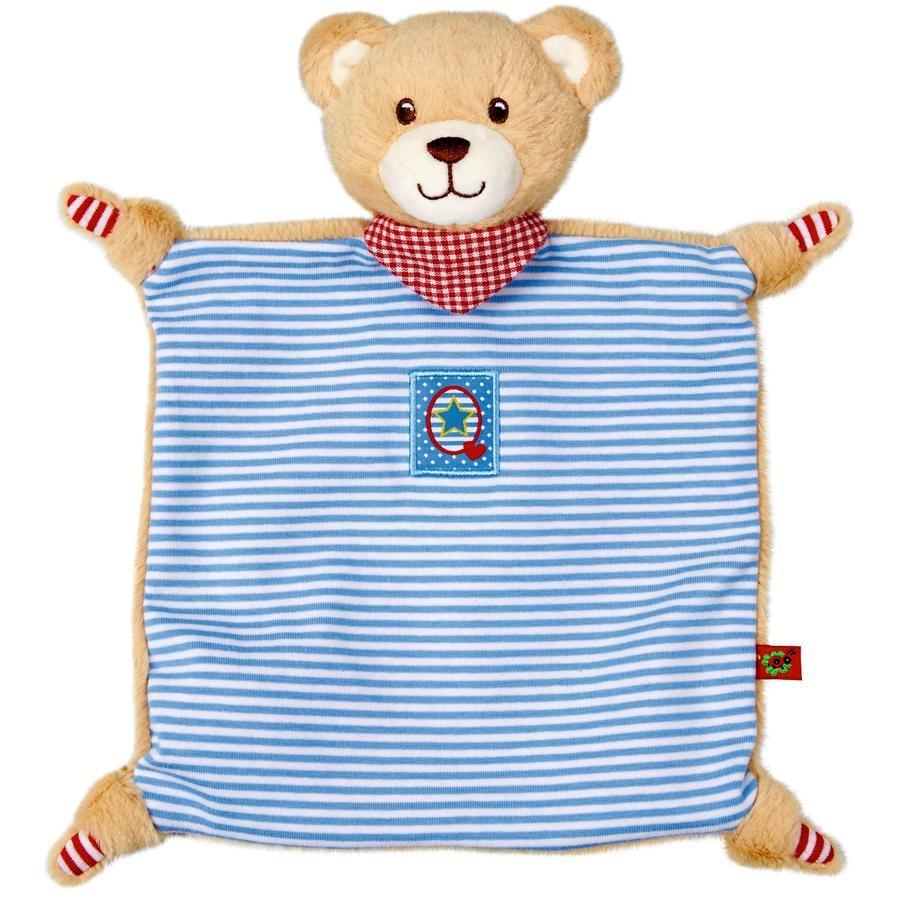 SPIEGELBURG COPPENRATH Schnuffeltuch Teddy BabyGlück, blau