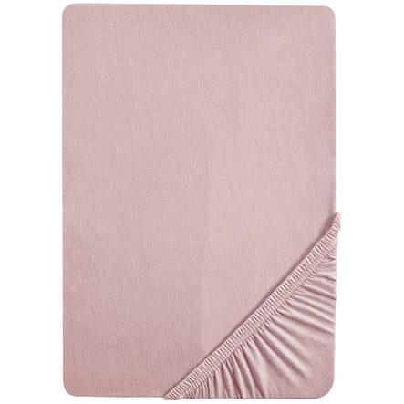 roba Spannbettlaken Jersey Lil Planet rosa 70x140 cm