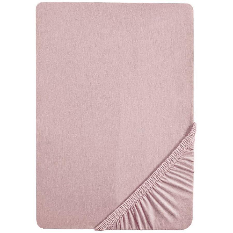 roba Hoeslaken Jersey Lil Planet roze 70x140 cm