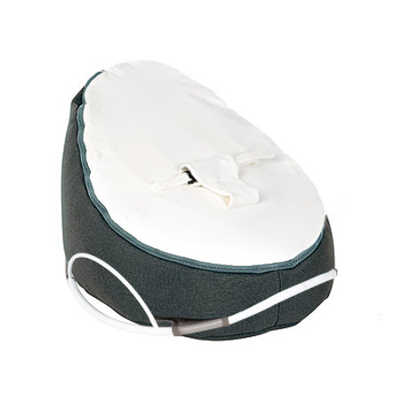 Doomoo Bean Bag Seat Original with Swing Color: Home White Anthracite