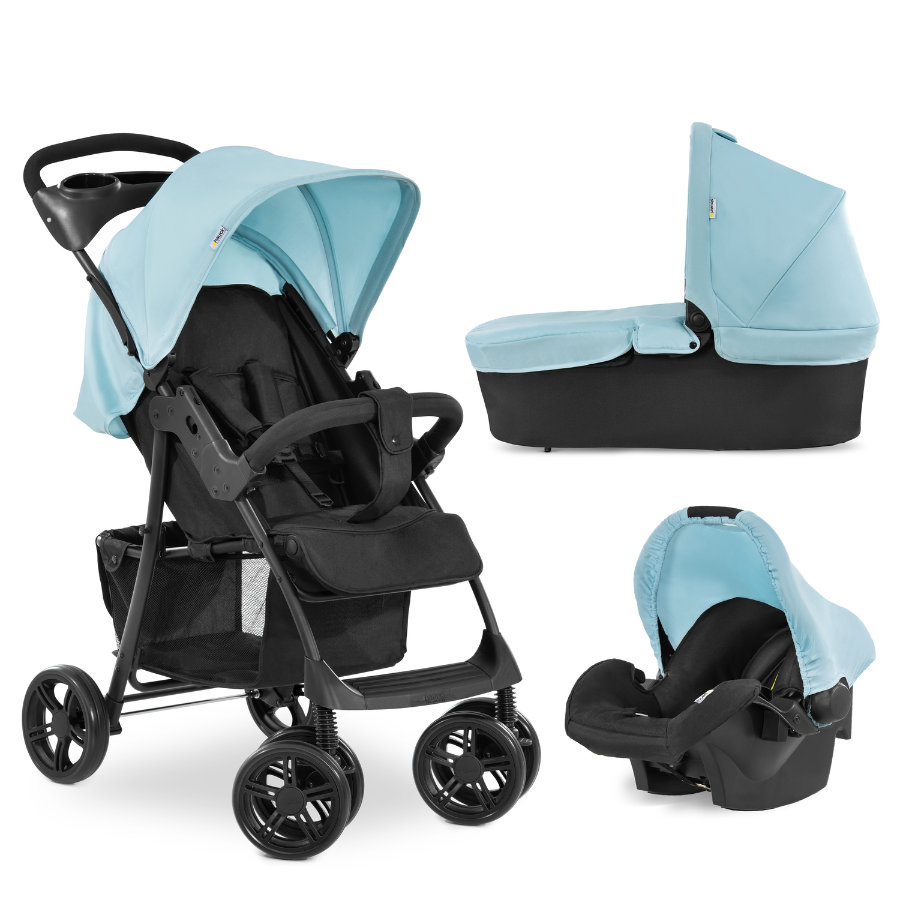 hauck Silla de paseo Shopper Trioset Azul