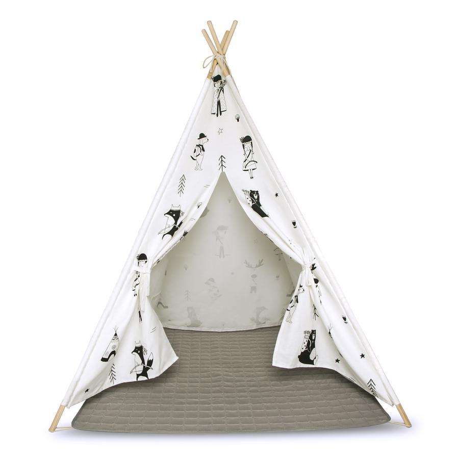 Hakuna Matte Tipi enfant et tapis de jeu - petits explorateurs