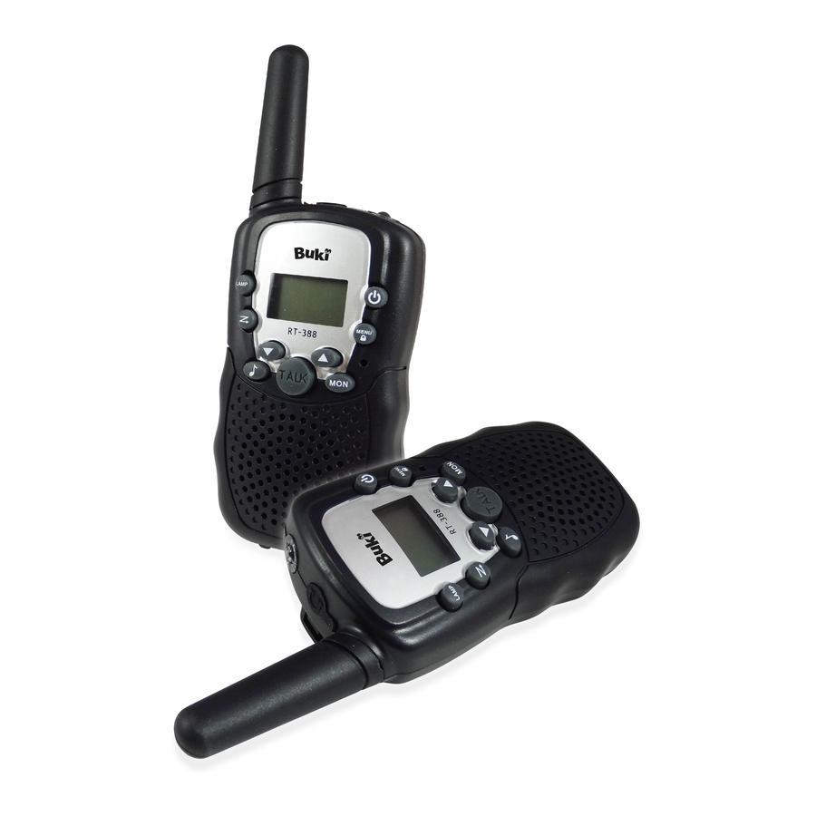 BUKI - Walkie Talkie - met oplaadbare batterijen