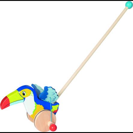 goki Push Animal Toucan