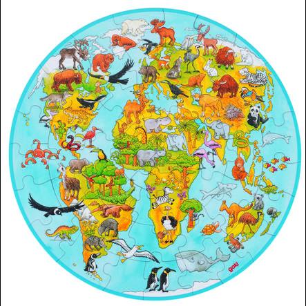 goki Puzzle XXL Monde