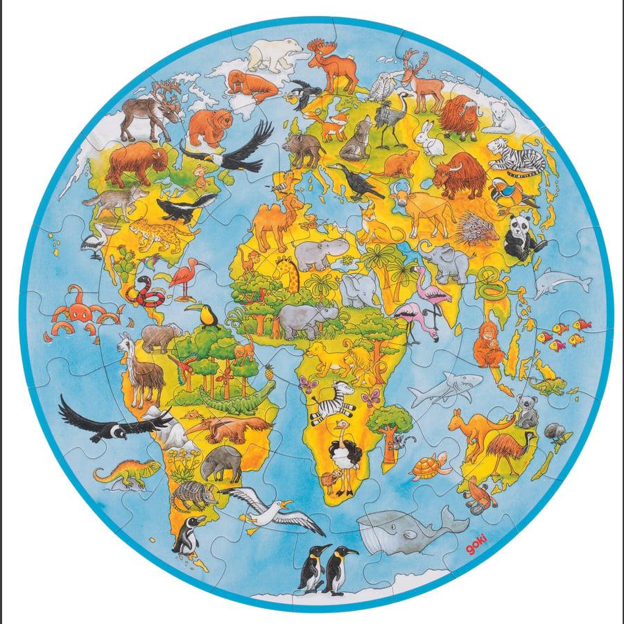 goki XXL Puzzle World