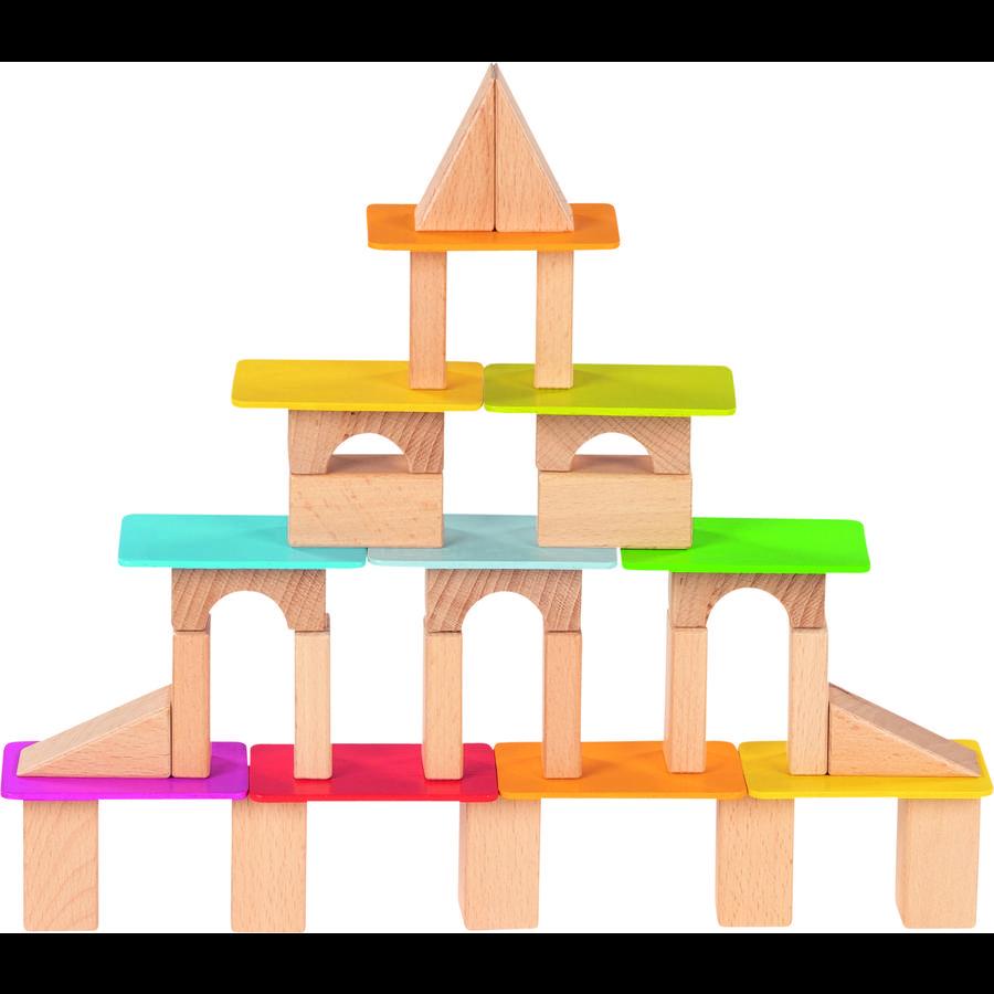 goki Bausteine und lasierte Holzkarten