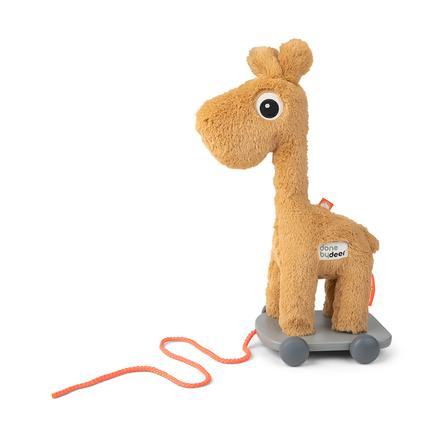 Done by Deer™ Nachziehtier Giraffe Raffi senfgelb