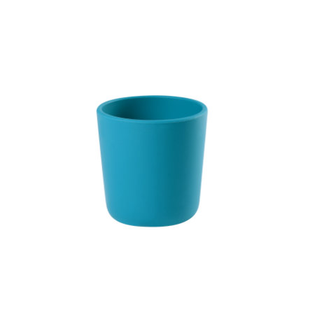 BEABA  Silikonový kelímek v modré barvě