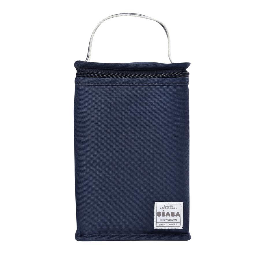 BEABA  Geïsoleerde zak donkerblauw gestreept