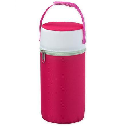 ROTHO warmhoudtas voor brede hals flessen, raspberry perl