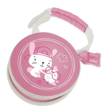 MAM Smokkpose i rosa, motiv: Bunny