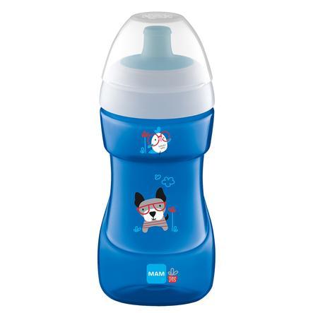 MAM Flaske Sports Cup 330 ml fra 12 måneder, hund