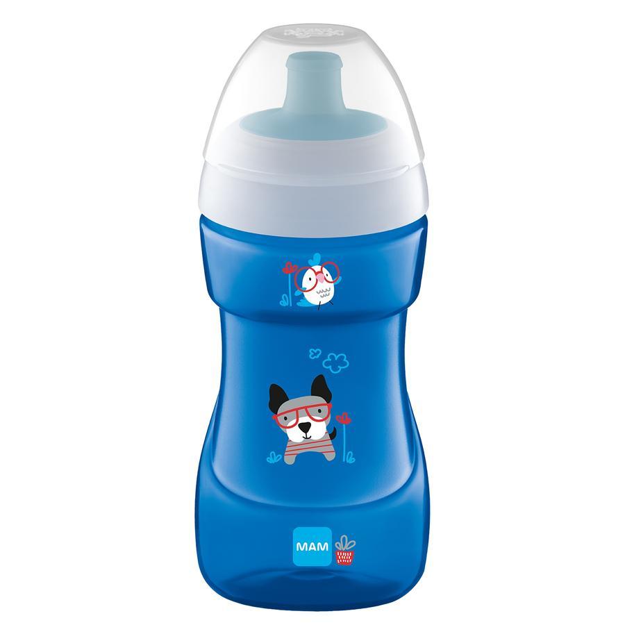 MAM Bottiglia Sports Cup 330 ml da 12 mesi, cane
