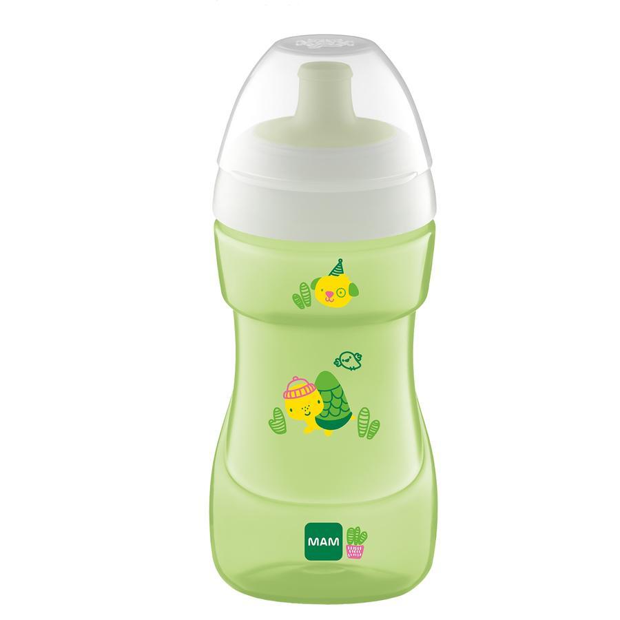 MAM Bottle Sports Cup 330 ml fra 12 måneder, Skildpadde