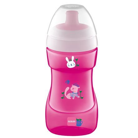 MAM Flasche Sports Cup 330 ml ab 12 Monaten, Frettchen