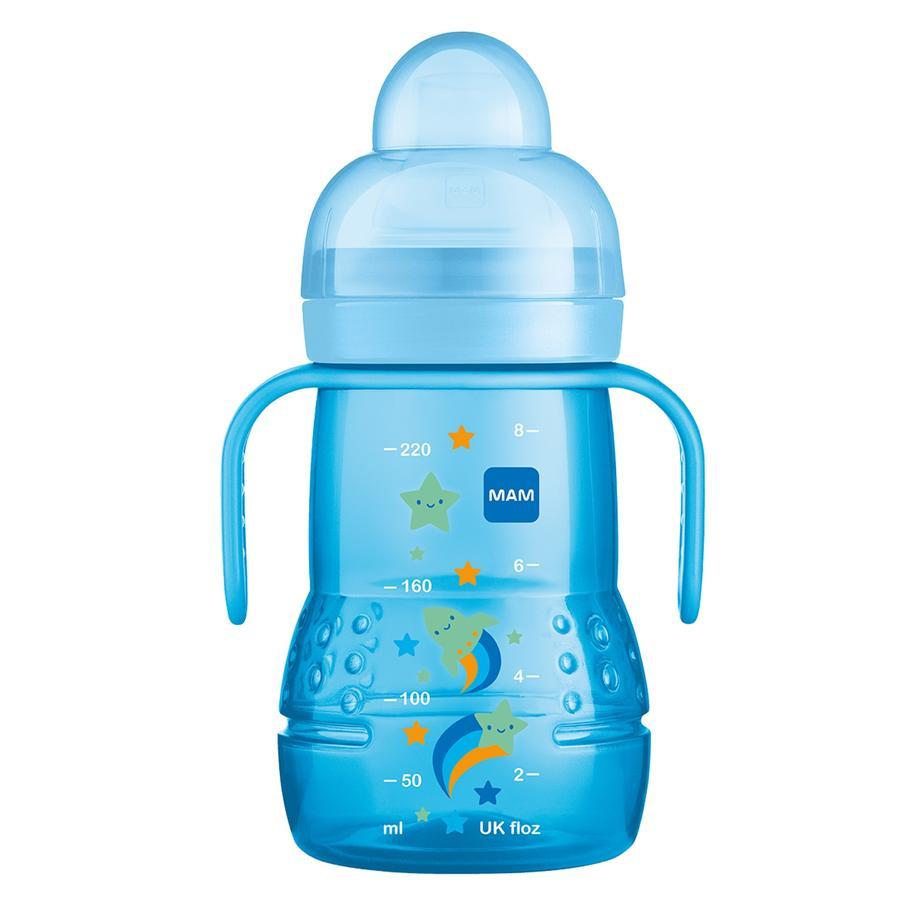 MAM Bottiglia per bevande Trainer+ 220 ml, razzo