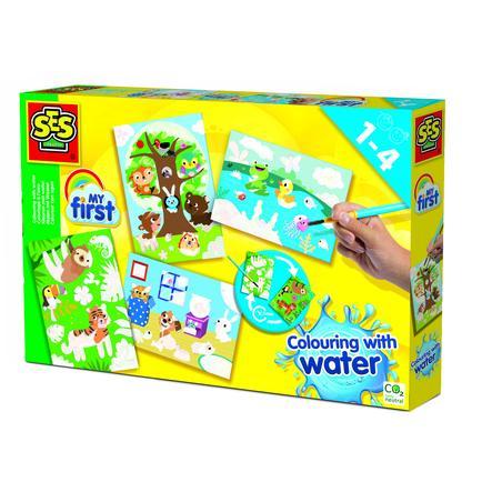 SES Creativ e® My first Malování vodou - skrytá zvířata