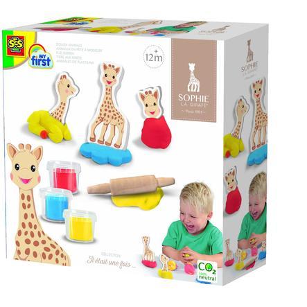 SES Creativ e® Sophie la Girafe - dieren van plasticine