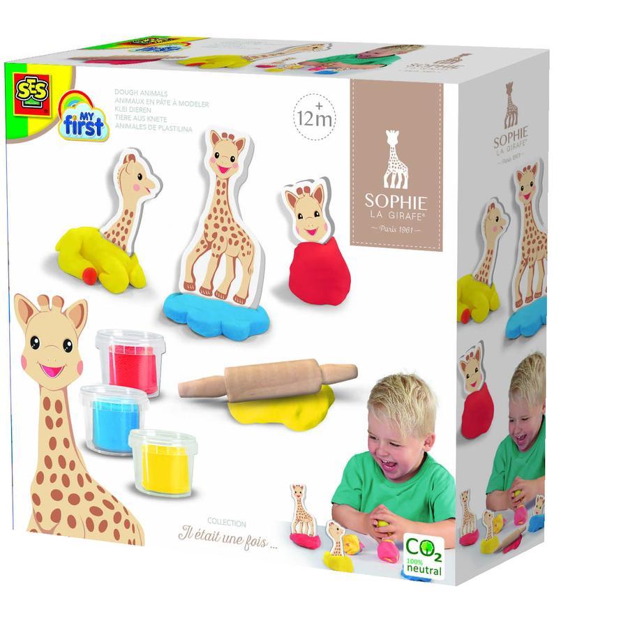SES Creative® Sophie la Girafe - dyr laget av plasticine