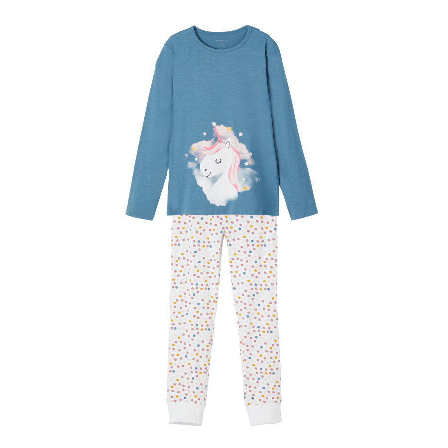 name it pyjama's 2-delig NKF NIGHT SET Real Teal