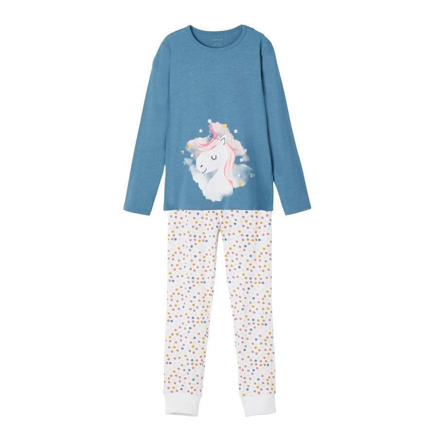 Name it pyjamas 2-delt NKF NIGHT SET Real Teal