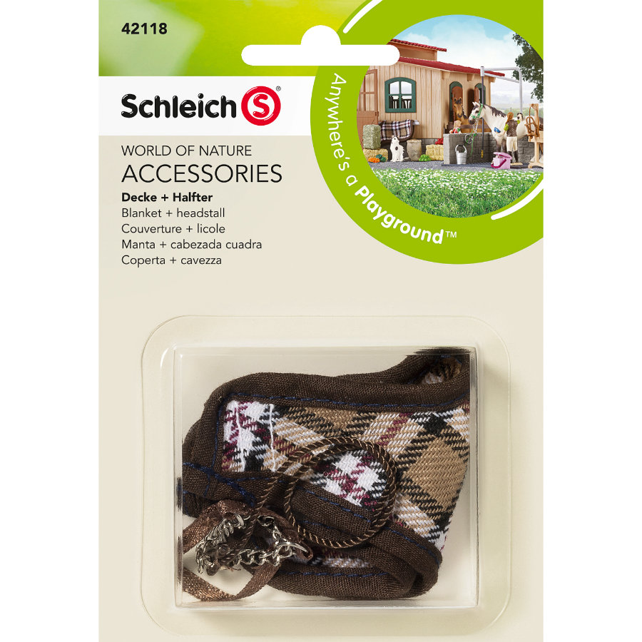 SCHLEICH Blanket and Headstall 42118