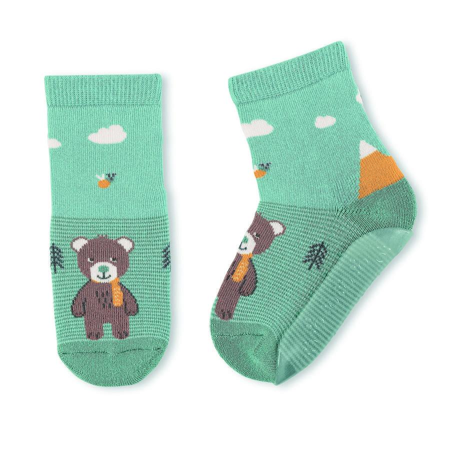 Sterntaler antiskli-sokker Air Ben lys turkis